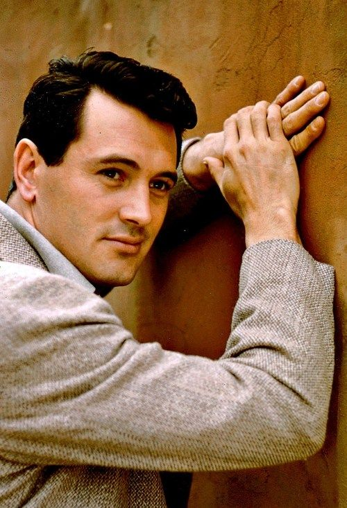 Rock Hudson, 1950's.  Who knew? I loved all of his movies with Doris Day