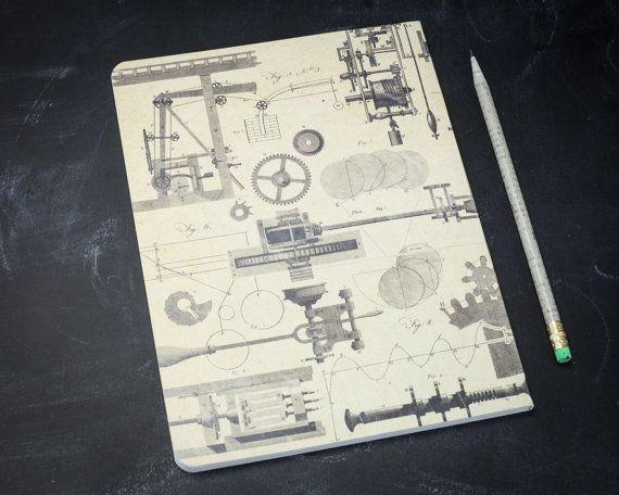 Physics: Mechanics Engineering Softcover Notebook Dot Grid