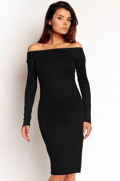 Sukienka odkryte ramiona NA79