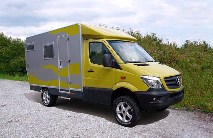 mb sprinter 4x4 unusual rvs caravans motorhomes. Black Bedroom Furniture Sets. Home Design Ideas