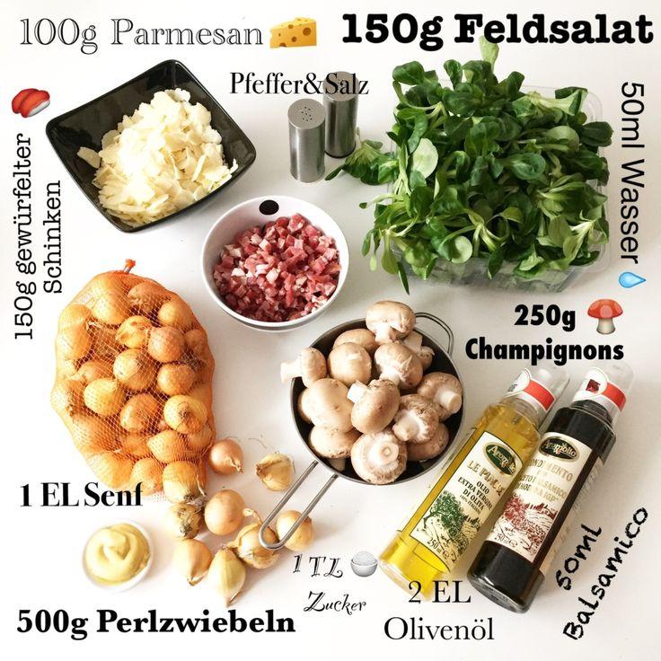 Rapunzel mit warmen Balsamico Perlzwiebeln und Champignons.. Feldsalat putzen/waschen und auf 4 Tellern verteilen. Die Zwiebeln abziehen. Champignons putzen/säubern. Olivenöl in einer Pfanne erhitzen und die Zwiebeln anbraten. Champignons und Schinkenwürfeln zugeben und unter Wenden mitbraten. Mit dem Balsamico-Essig ablöschen und 2-3 Minuten einkochen lassen...