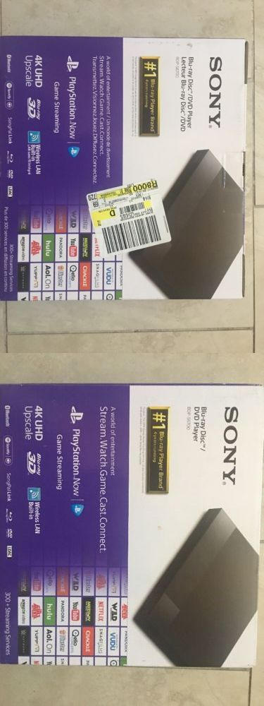 DVD and Blu-ray Players: Sony Bdp-S6700 Blu-Ray Disc Player With 4K Upscaling BUY IT NOW ONLY: $110.0