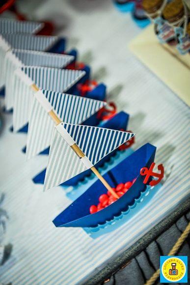 Barca tema nautico