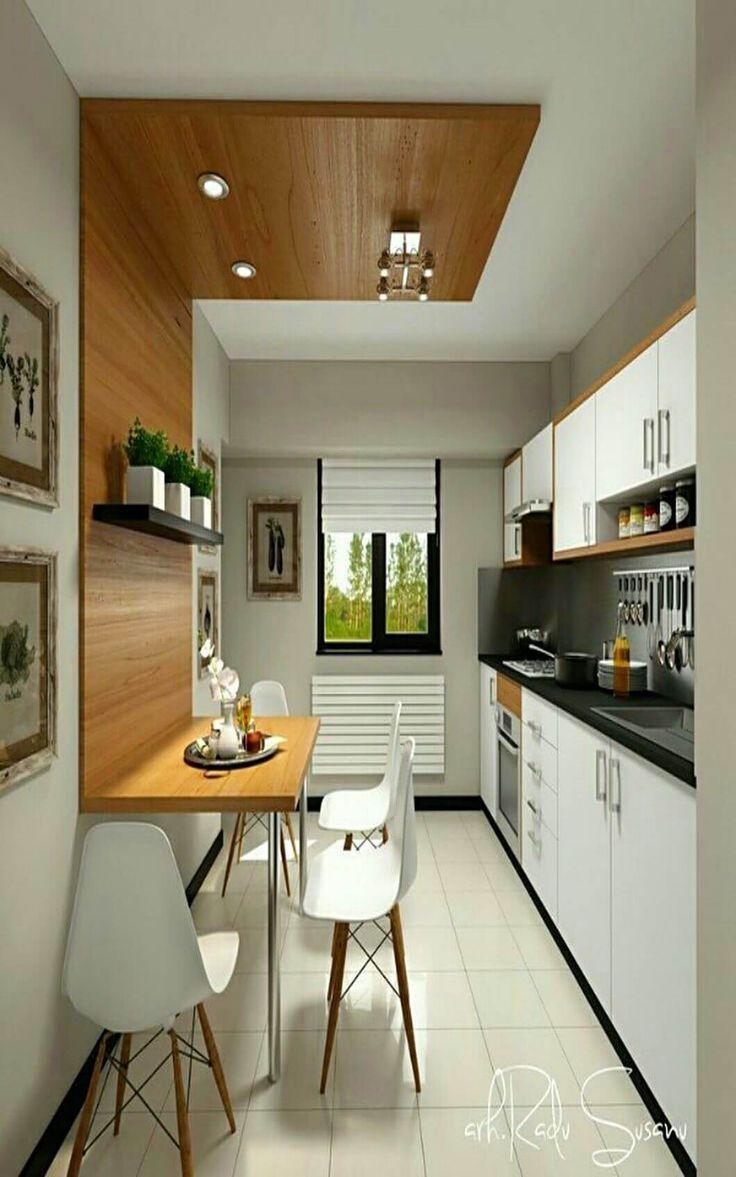 25 Ideen für kleine Kücheneinrichtungen Auf ein Budget, um den vorhandenen Raum zu maximieren