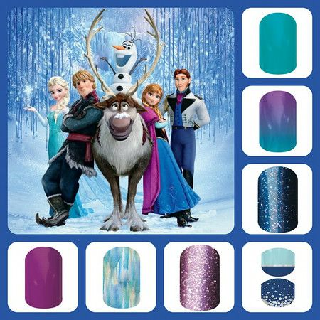 I LOVE these Disney Jamberry nails. Follow the photo link to order them! http://megankunkel.jamberrynails.net