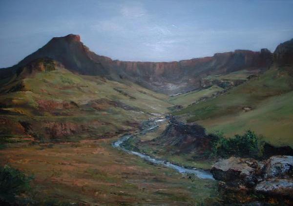 Rhinos Horn landscape by Marlene Dickerson