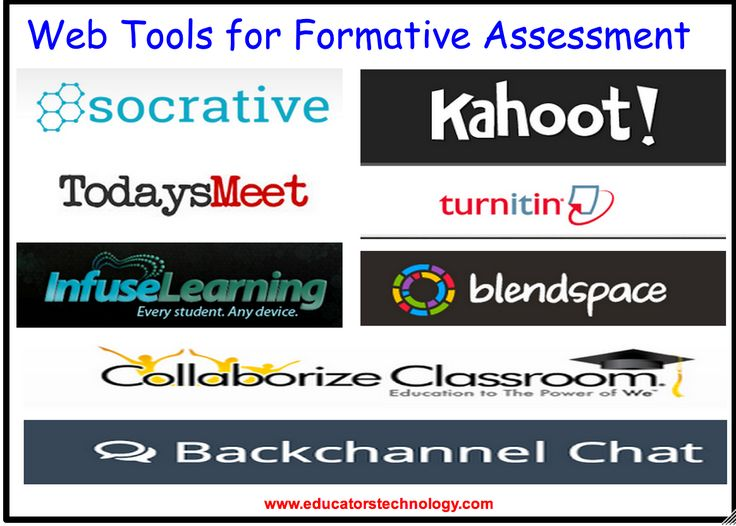 8 Excellent Tools for Formative Assessment to Try With Your Students ~ Educational Technology and Mobile Learning