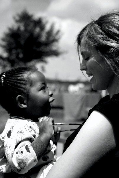 2. C Job She volunteers in Africa to help children with their education and is also a doctor.