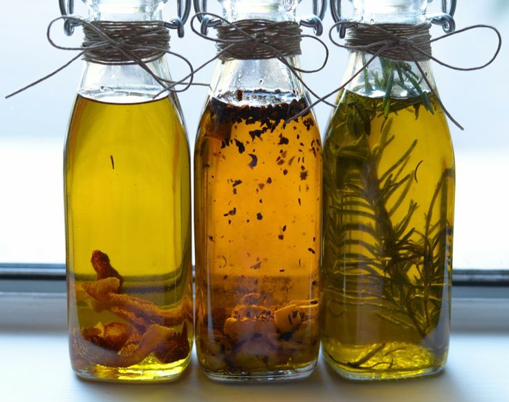 Homemade infused olive oils Recipe Diy holiday gifts