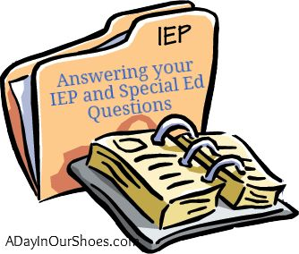 IEP advice plus printables and list of 500 SDIs