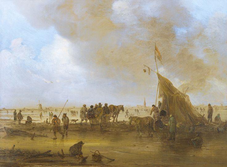 Jan van Goyen, «A Scene on the Ice»