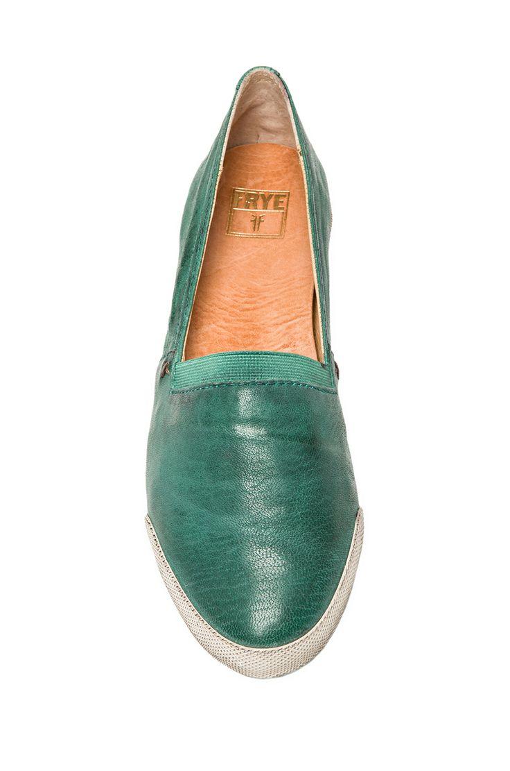 Frye Melanie Slip On in Turquoise