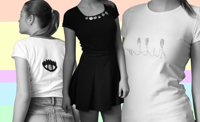 Nataly's life: 3 t-shirt makeover ideas