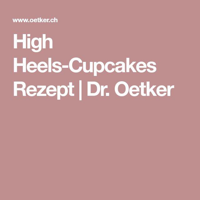 High Heels-Cupcakes Rezept | Dr. Oetker