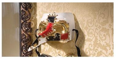 Scaramouche MaskScaramouch Masks, Venetian Masks
