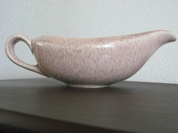 This just sold at ZenDenVintage....get your fave item before it's gone!!  Gravy Boat Mid Century Modern Laurel Potteries