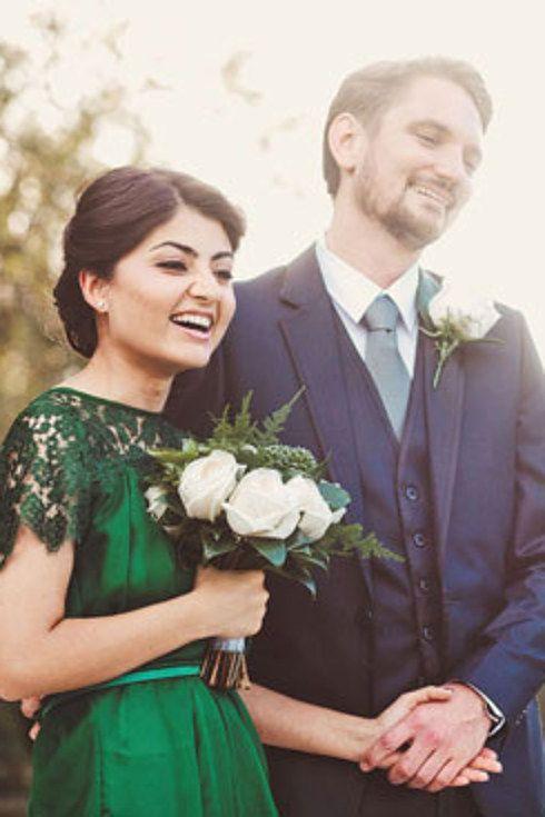 38 beautifully modern wedding dress ideas dress ideas for Emerald green wedding dress