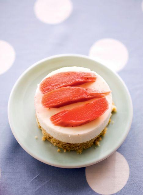 Cheesecake med bagte rabarber 6 lækre opskrifter med rabarber - Boligliv