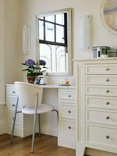 Mia Wildblood's House: Beautiful table for Makeup Holic