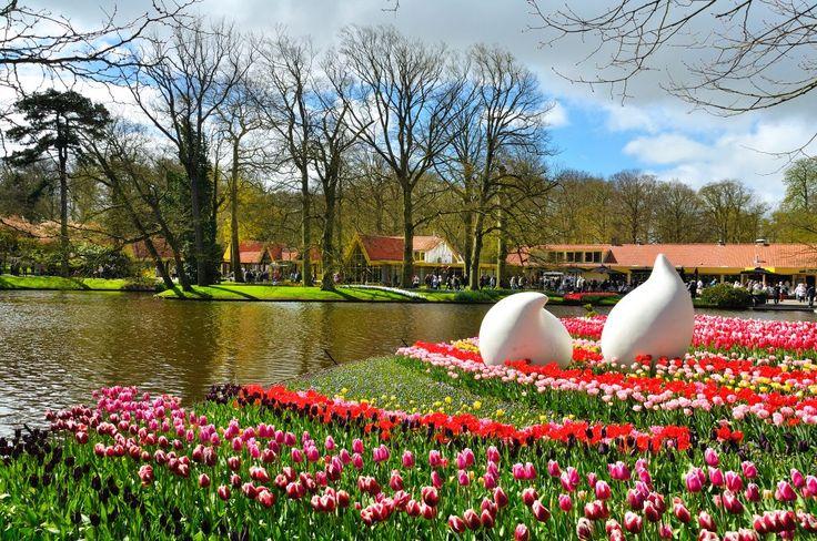 Il parco di keukenhof e la fioritura dei tulipani in - Giardini fantastici ...
