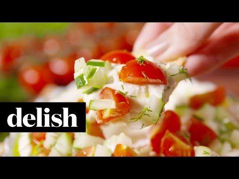 Best Greek Feta Dip - How to Make Greek Feta Dip