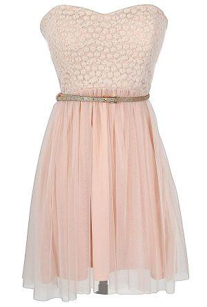 Boho Glam Dress in Pink