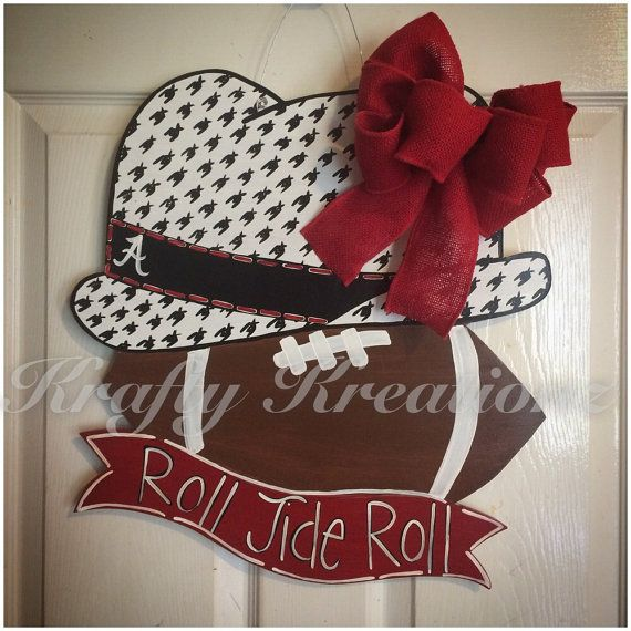This super cute unique door hanger is perfect for the biggest bama fan. & 260 best T.O.D. Sports images on Pinterest | Kentucky wildcats ...