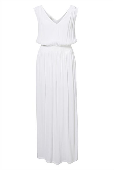 V-Neck Neck Maxi Dress - hope this come in another colour, love the cut #witcherywishlist