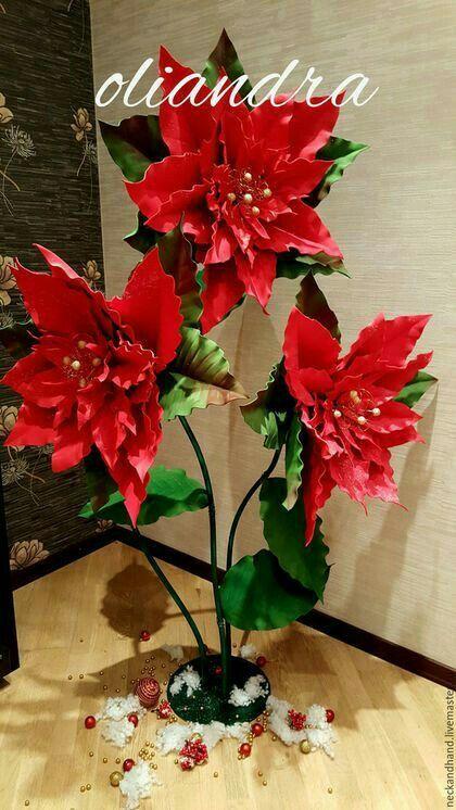 Flores navideñas