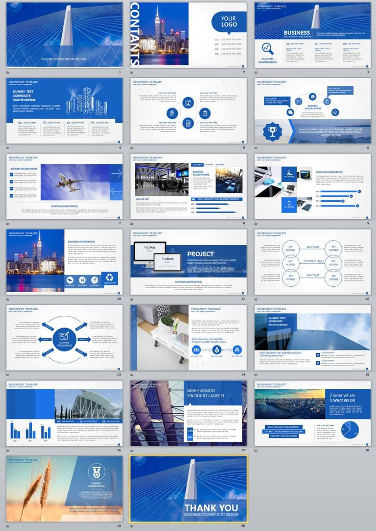 62 best 2018 Business Powerpoint templates images on Pinterest - business report templates