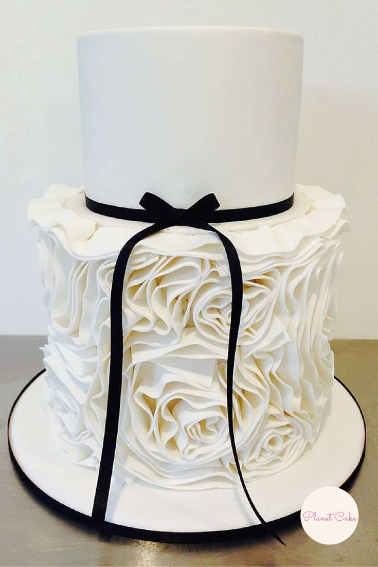 Flower Ruffle Cake|Planet Cake Basics 103 Class| Part of a 10 Module Education Program.
