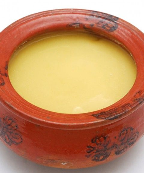 It is a common notion that ghee is used only orally. A special but very simple ghee preparation is used in many skin conditions like burns and wound scars