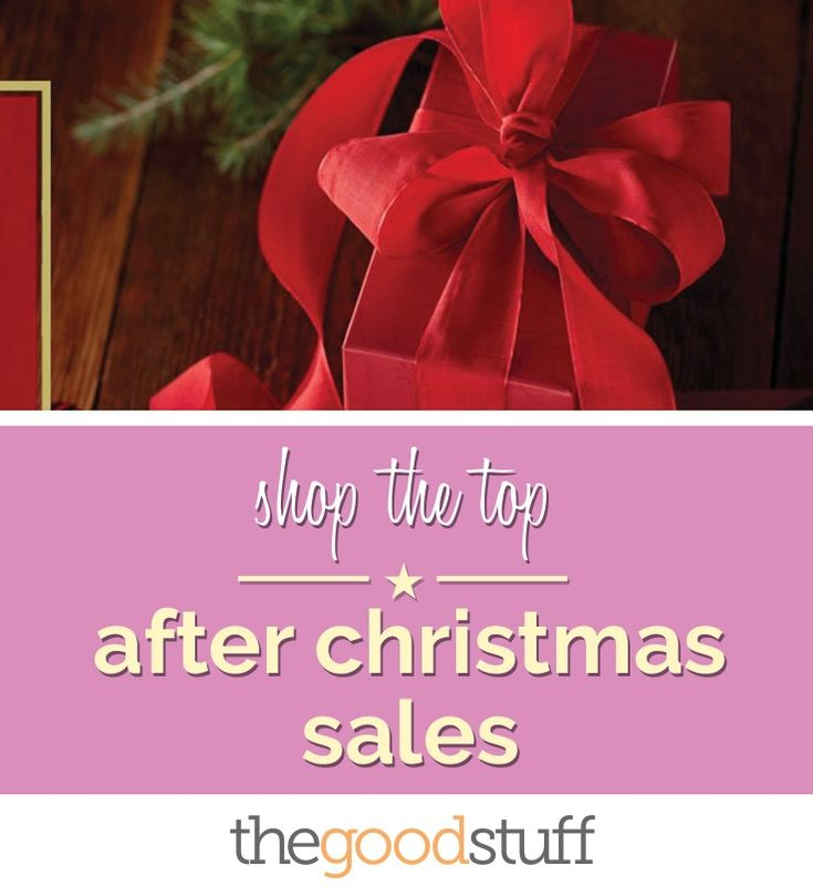 After Christmas sales from your favorite retailers like Target, Sephora, Gap and more.