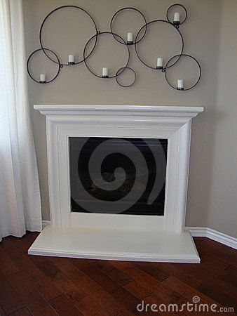 White Fireplace Decor Pinterest White Fireplace And Fireplace Candle Holder