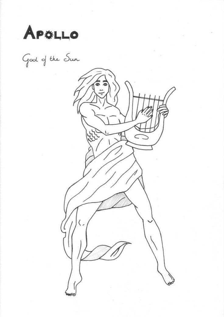 17 Best images about Greek God/dess' Coloring Pages on ...