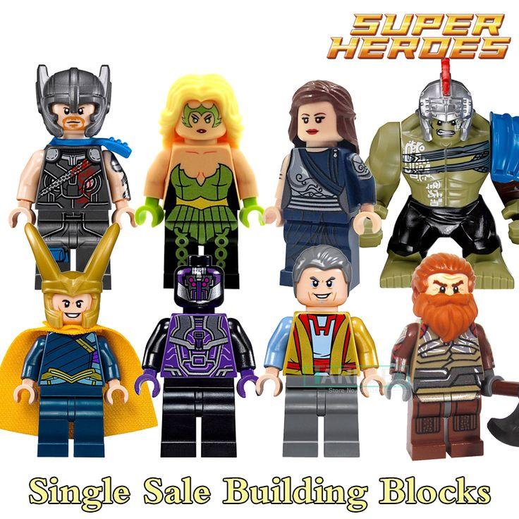 Building Blocks X0165 Sakaarian Guard Thor Amora Jane Figures Marvel Super Heroes Star Wars Action Bricks Kids DIY Toys Hobbies #Affiliate