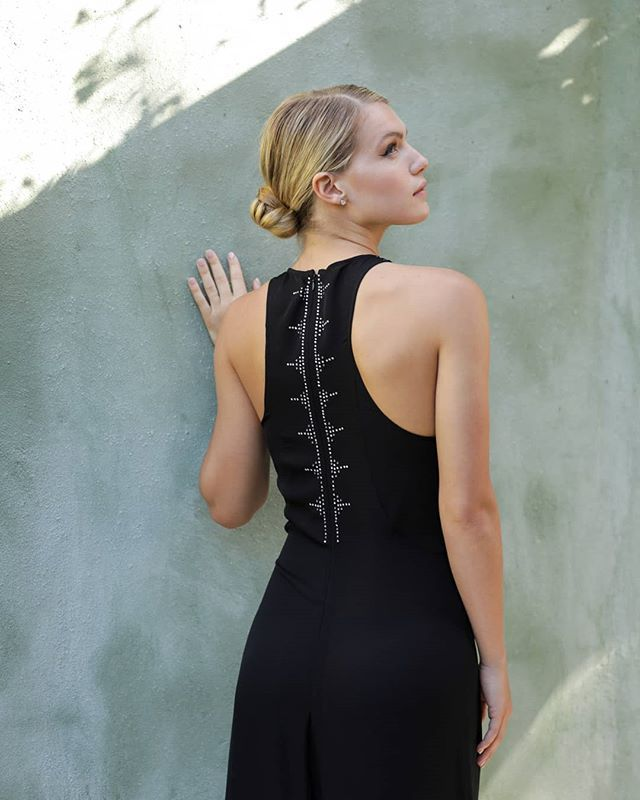 Back details  An Ikaria exclusive design created with @swarovski crystals. Pre-order is available for a limited time! . . . #luxuryresortwear #crystalsfromswarovski #luxurylifestyle #swarovski #madeinla #resort19 #holidaycollection