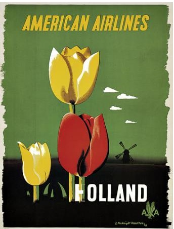 Holland - American Airlines