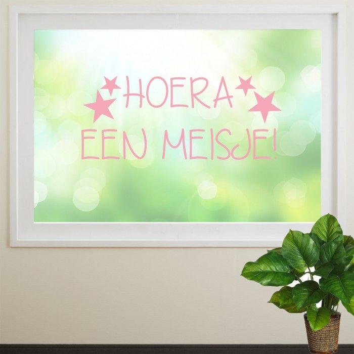 Laat iedereen weten dat jullie meisje is geboren   KidZstijl.nl