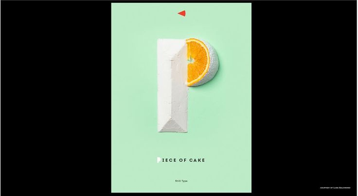 Piece of Cake   P Letter