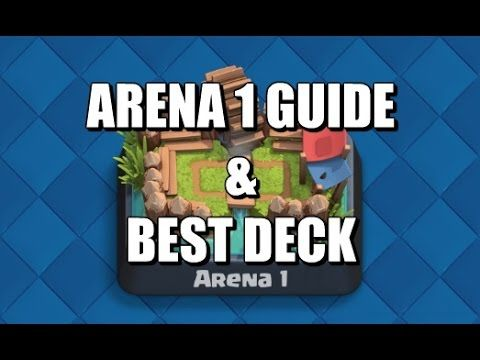 Arena 1 - Best Deck & Guide - Clash Royale