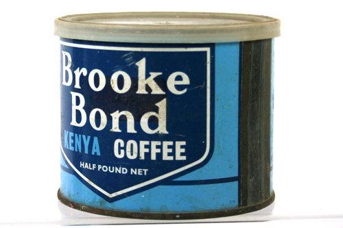Kenya Vintage Brooke Bond Coffee Tin