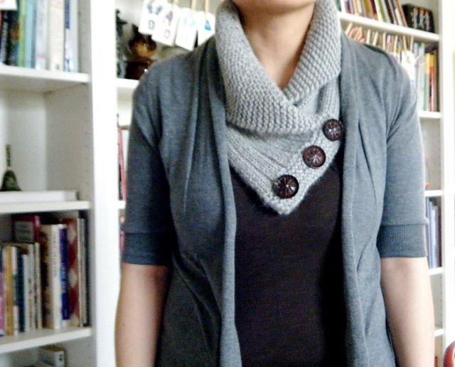 Mejores 328 imágenes de Knit/Crochet Scarves + Cowls en Pinterest ...