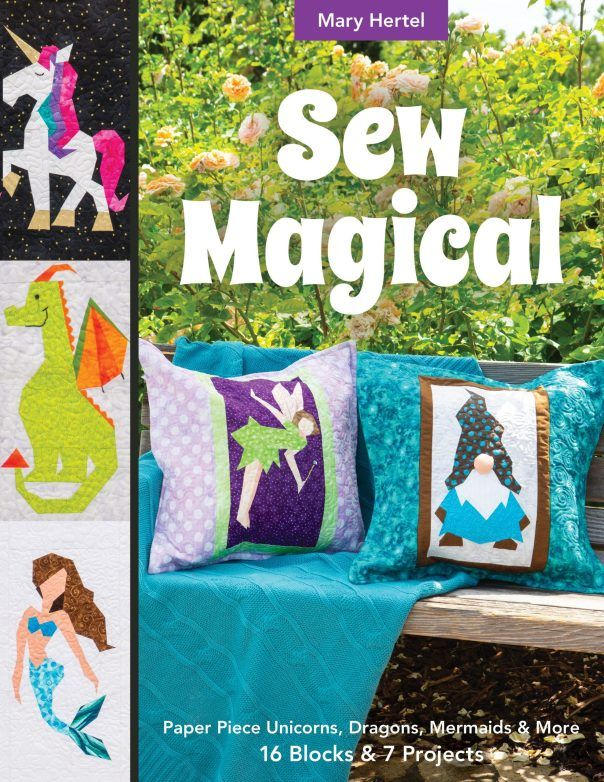 Halloween On Hertel 2020 SEW MAGICAL Trunk Show   Made By Marney in 2020   Paper piecing