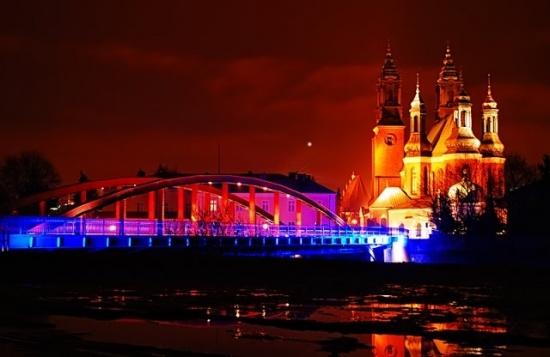 Poznan Poland, Katedra i Most Jordana [fot.Fran Gonzalez]