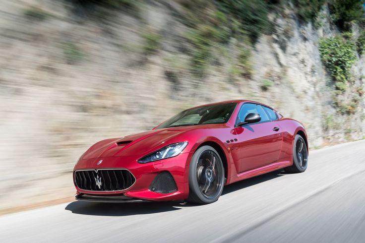 Maserati GranTurismo - front tracking