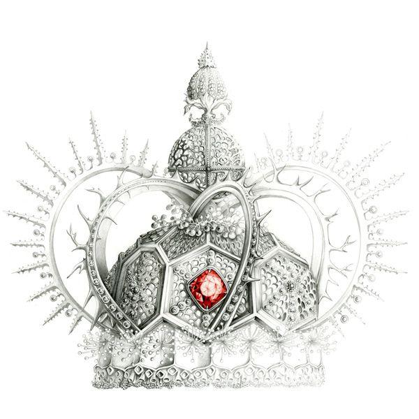 illustration mode bijoux couronne de roi  Florence Gendre
