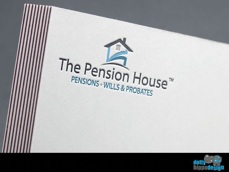 Logo design for The Pension House