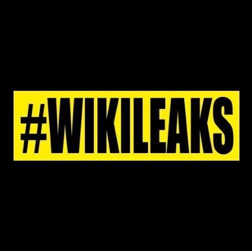 Funny #WIKILEAKS Anti Hillary BUMPER STICKER decal Trump Anonymous Infowars GOP