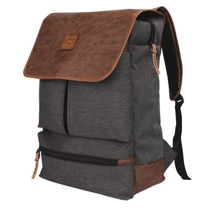 Tas Ransel Laptop / Backpack Casual Unisex Pria Wanita - YD 036. Produk fashion handmade asal Bandung dengan bahan nyaman digunakan, desain trendy dan tidak pasaran. Membuat tampil percaya diri.   #Catenzo #Tas Ransel